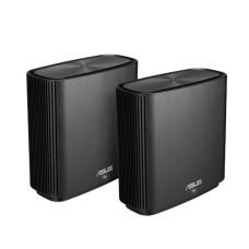 ASUS ZenWiFi AC (CT8) wireless router Gigabit Ethernet Tri-band (2.4 GHz / 5 GHz / 5 GHz) Black