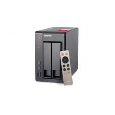 QNAP TS-251+ NAS Toren Ethernet LAN Grijs