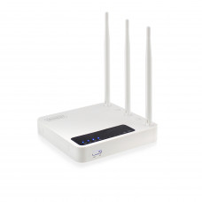 Eminent EM4500 Dual-band (2.4 GHz / 5 GHz) Gigabit Ethernet Wit draadloze router