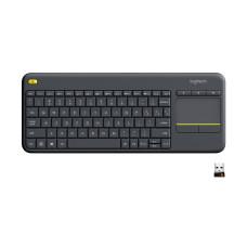 Logitech K400 Plus keyboard RF Wireless QWERTY Dutch Black