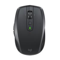Logitech MX Anywhere 2S muis RF draadloos + Bluetooth 4000 DPI Rechtshandig Zwart, Grijs