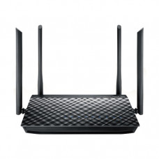 ASUS RT-AC57U wireless router Dual-band (2.4 GHz / 5 GHz) Gigabit Ethernet Black