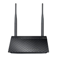ASUS RT-N12 D1 Single-band (2.4 GHz) Fast Ethernet Zwart draadloze router