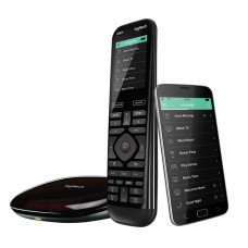 Logitech Harmony Elite remote control Audio,CABLE,DVR,Game console,Home cinema system,PC,Smartphone,TV,Tablet Touch screen