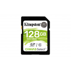 Kingston Technology Canvas Select memory card 128 GB SDXC Class 10 UHS-I