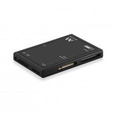 Ewent EW1074 geheugenkaartlezer USB 3.0 (3.1 Gen 1) Type-B Zwart