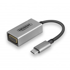 Eminent AB7871 cable interface/gender adapter USB Type-C VGA Aluminium,Black