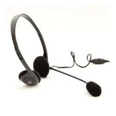 Ewent EW3563 headphones/headset Head-band 3.5 mm connector Black