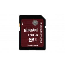 Kingston Technology SDXC UHS-I U3 (SDA3) 128GB 128GB SDXC UHS Klasse 3 flashgeheugen