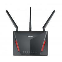 ASUS RT-AC86U Dual-band (2.4 GHz / 5 GHz) Gigabit Ethernet Zwart draadloze router