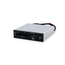 Eminent EM9000 geheugenkaartlezer Intern USB 2.0 Zwart