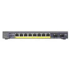 Netgear GS110TP Managed Gigabit Ethernet (10/100/1000) Black Power over Ethernet (PoE)
