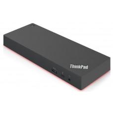 Lenovo 40AN0135EU notebook dock/port replicator Wired Thunderbolt 3 Black, Red