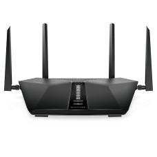 Netgear Nighthawk AX5400 wireless router Gigabit Ethernet Dual-band (2.4 GHz / 5 GHz) Black
