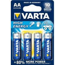 Varta High Energy AA Alkaline 1.5V niet-oplaadbare batterij