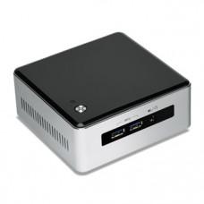 Intel NUC BLKNUC5I3MYHE BGA 1168 2.1GHz i3-5010U UCFF Zwart, Zilver PC/workstation barebone