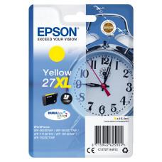 Epson Alarm clock Singlepack Yellow 27XL DURABrite Ultra Ink