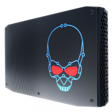 Intel NUC BOXNUC8I7HNK2 PC/workstation barebone i7-8705G 3.1 GHz 1.2L sized PC Black BGA 2270