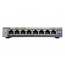 Netgear GS108E Gigabit Ethernet (10/100/1000) Black