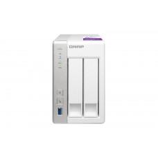 QNAP TS-231P data-opslag-server Ethernet LAN Desktop Grijs, Wit NAS