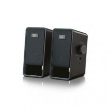 Ewent EW3504 loudspeaker 6 W Black Wired