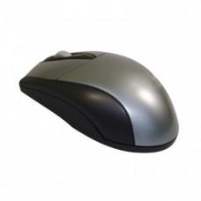 Ewent EW3154 muis USB+PS/2 Optisch 1000 DPI Ambidextrous Zwart, Grijs