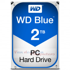Western Digital Blue HDD 2000GB SATA III interne harde schijf