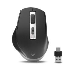 Ewent EW3240 mouse Right-hand RF Wireless+Bluetooth 2400 DPI