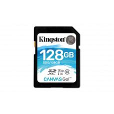 Kingston Technology Canvas Go! memory card 128 GB SDXC Class 10 UHS-I